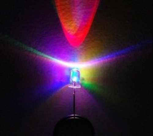 Bluecell RGB Multi color Flashing LED Electronics 5mm