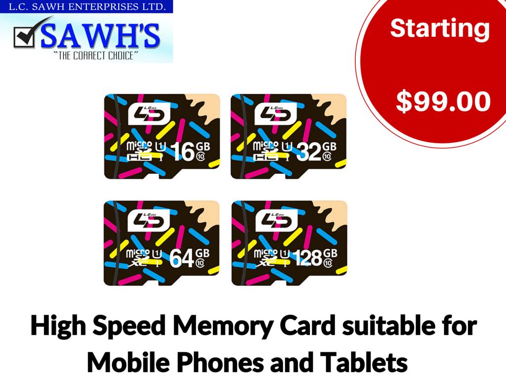 Micro Memory Cards
