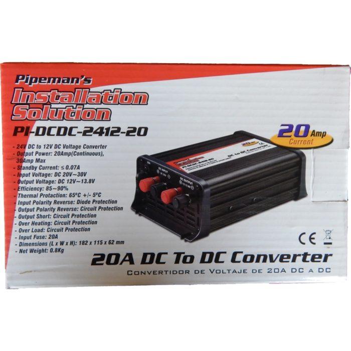 20A 24V DC To 12V DC Voltage Converter - L.C Sawh Enterprises Ltd